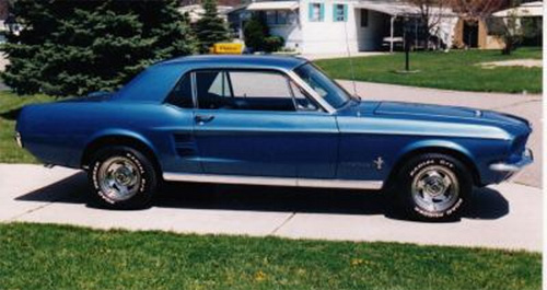 1967 Mustang Pictures